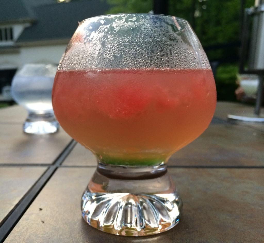 Watermelon Vodka Tonic